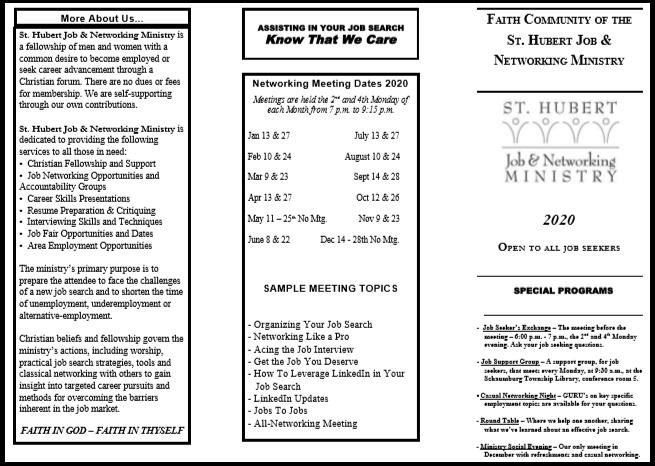 st-hubert-job-ministry-brochure-outside border