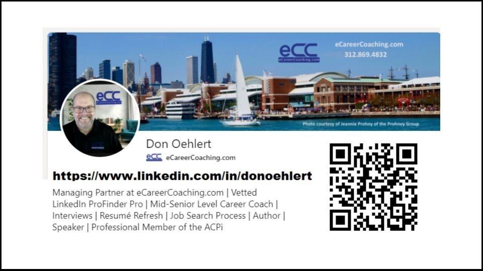 Don Oehlert LinkedIn