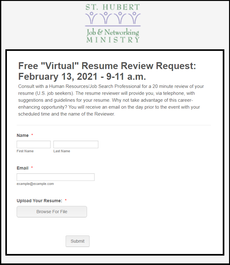 st-hubert-job-networking-ministry-february-2021-resume-review-form