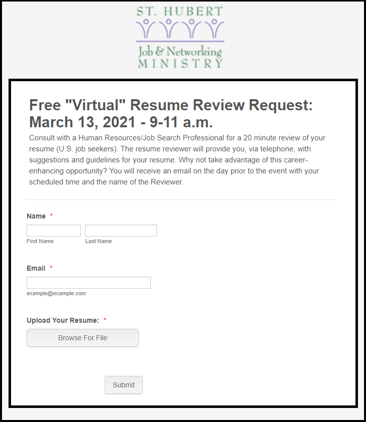 st-hubert-job-networking-ministry-march-2021-resume-review-form