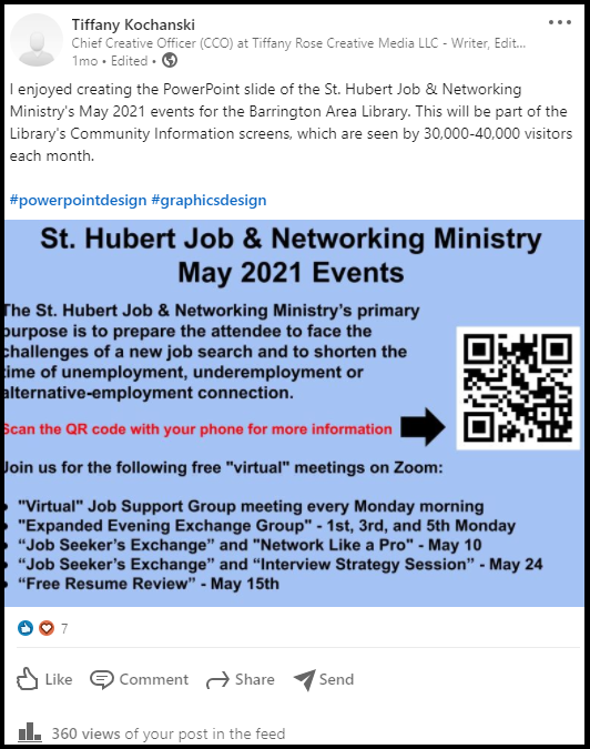 st-hubert-job-networking-ministry-may-2021-events-barrington-area-library-powerpoint-slide